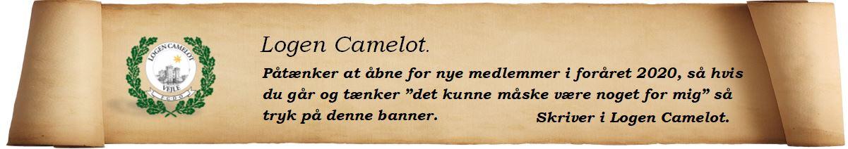 Optagelse i Logen Camelot